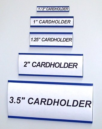 Magnetic Card Holders