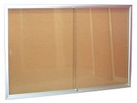 Series 670 Sliding Glass Door Display Case