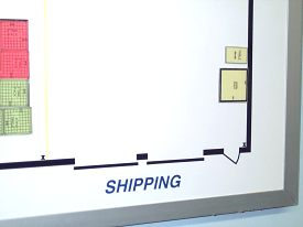 Plant Layout Board - Shipping Dock Detail